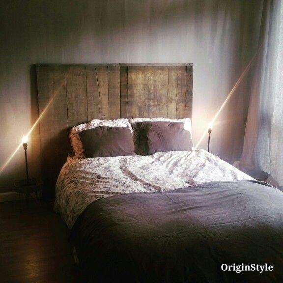 Landelijke stoere slaapkamer met kalkverf van pure andere original ...