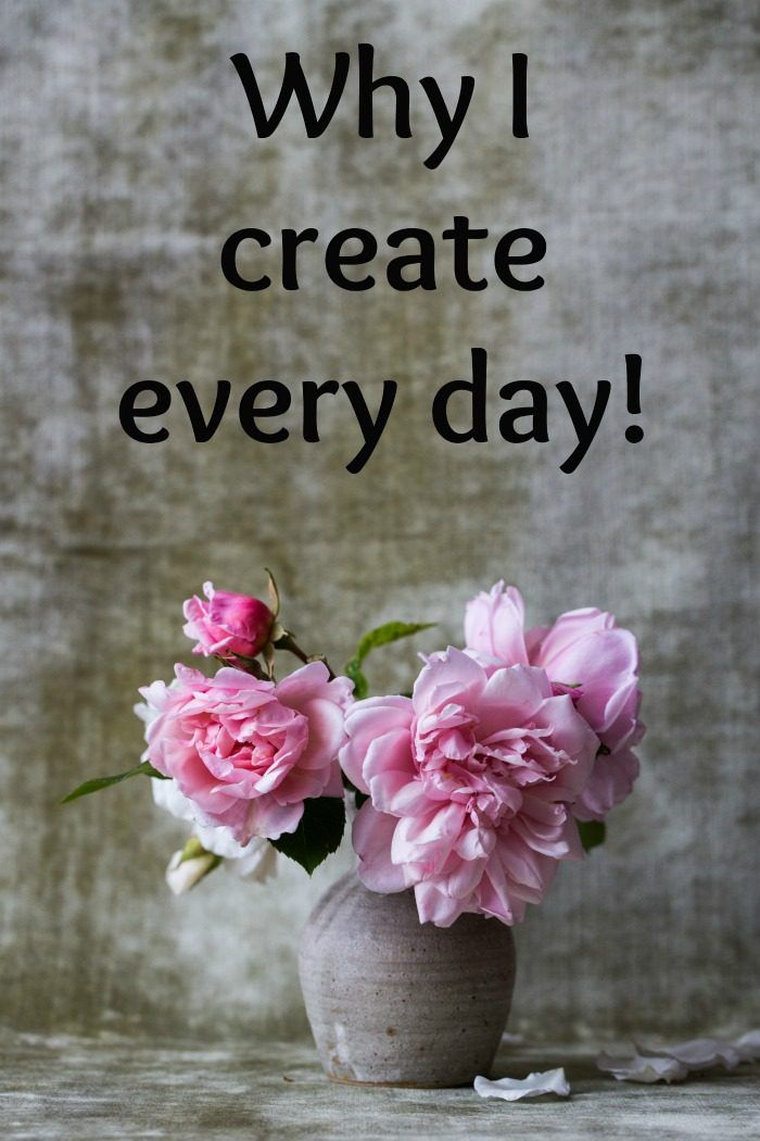 Why I create every day. via simplir.me