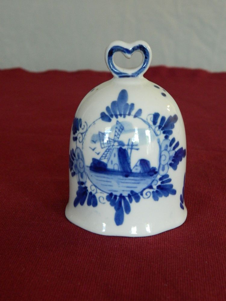 Delft Bell Durable In Use Art Pottery