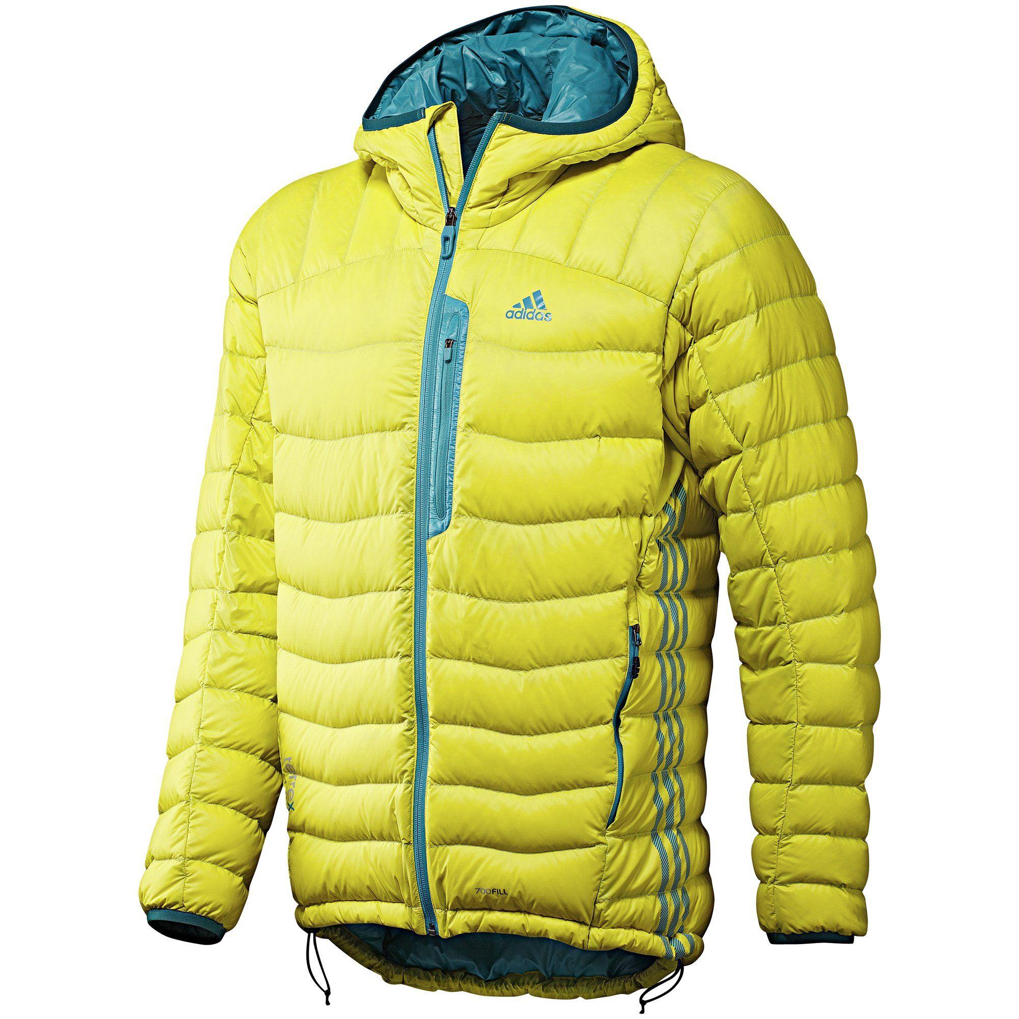Men's Terrex Hooded Light Down Jacket, Lab Lime Jackets