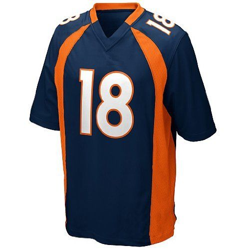Manning Jersey Denver Broncos Peyton Manning Color Blue Elite Men's Jerseys (48(XL)) by NFL. $60.00. Thank you for coming to our store, We store the name: 1st DOING, our shipping options : DHL, more quickly let you receive the goods, the goods we will inform you, let you know timely tracking ship,  In the us fill the tracking number, need to query the friend please to DHL trace waybill number, you have any questions please tell us in time, when you received the ...
