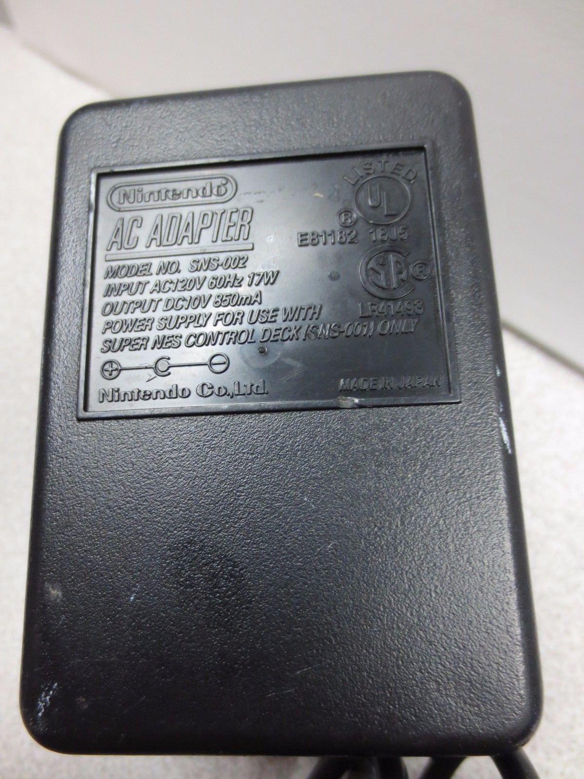 Original OEM Super Nintendo Power Cord (SNES) | Products