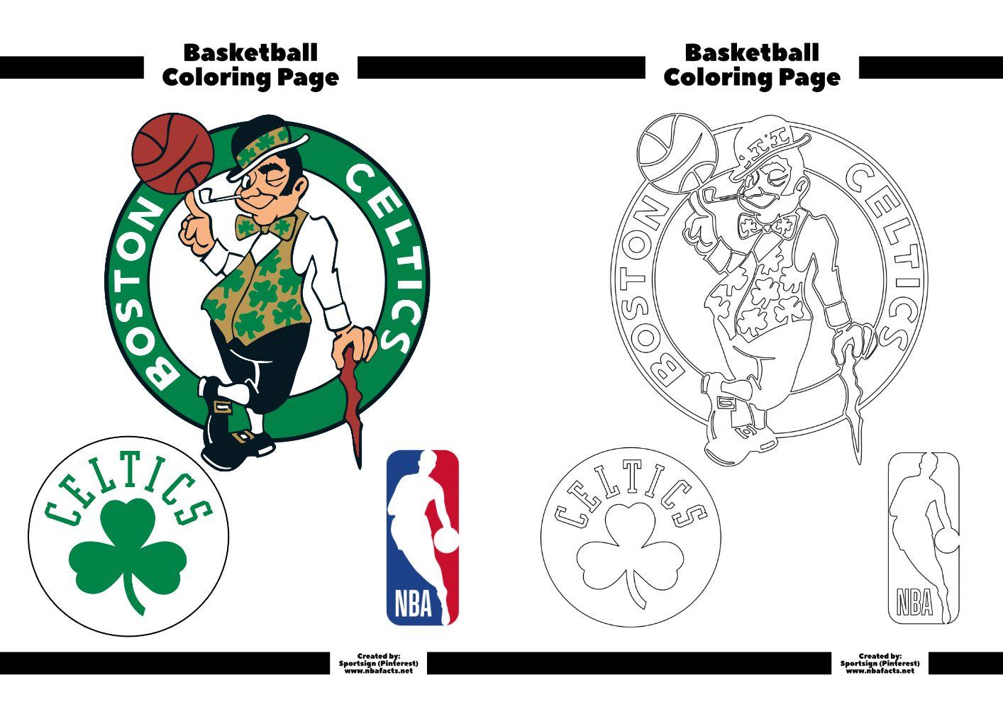 ป กพ นในบอร ด Boston Celtics Nba Basketball