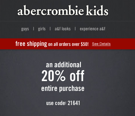 abercrombie kids 20 off printable coupon