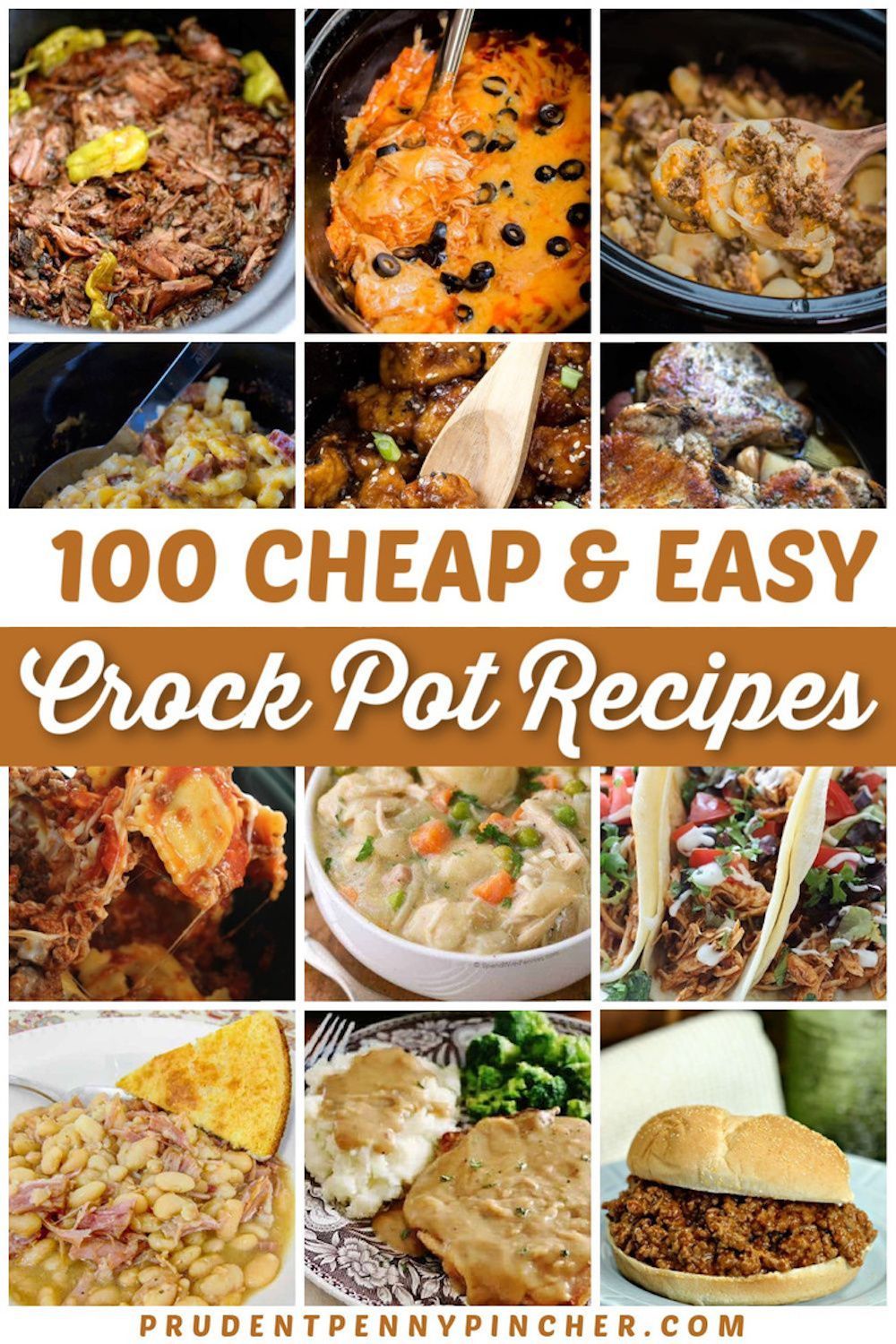 100 Cheap And Easy Crockpot Recipes Chicken Crockpot Recipes Crockpot Chicken Dinners Crockpot Recipes