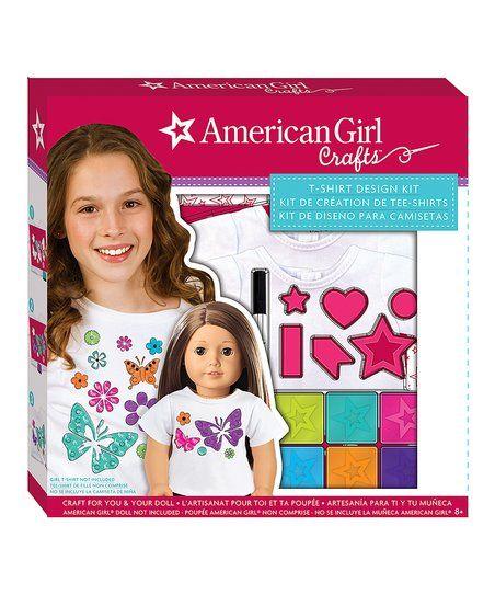 American Tween Girls Fashion: American Girl Crafts American Girl T-Shirt Design Kit