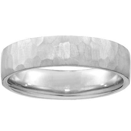 18k White Gold 5mm Everest Wedding Ring Mens Rings Wedding Diamond Modern Wedding Rings Mens Gold Wedding Band