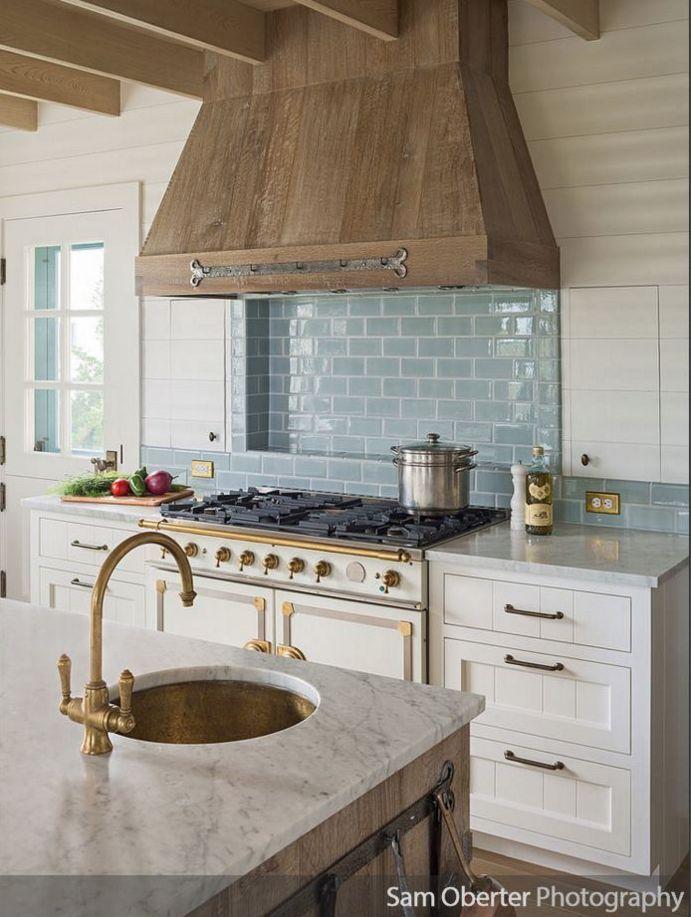 Cerused Oak Kitchen Cabinetry Interior Design