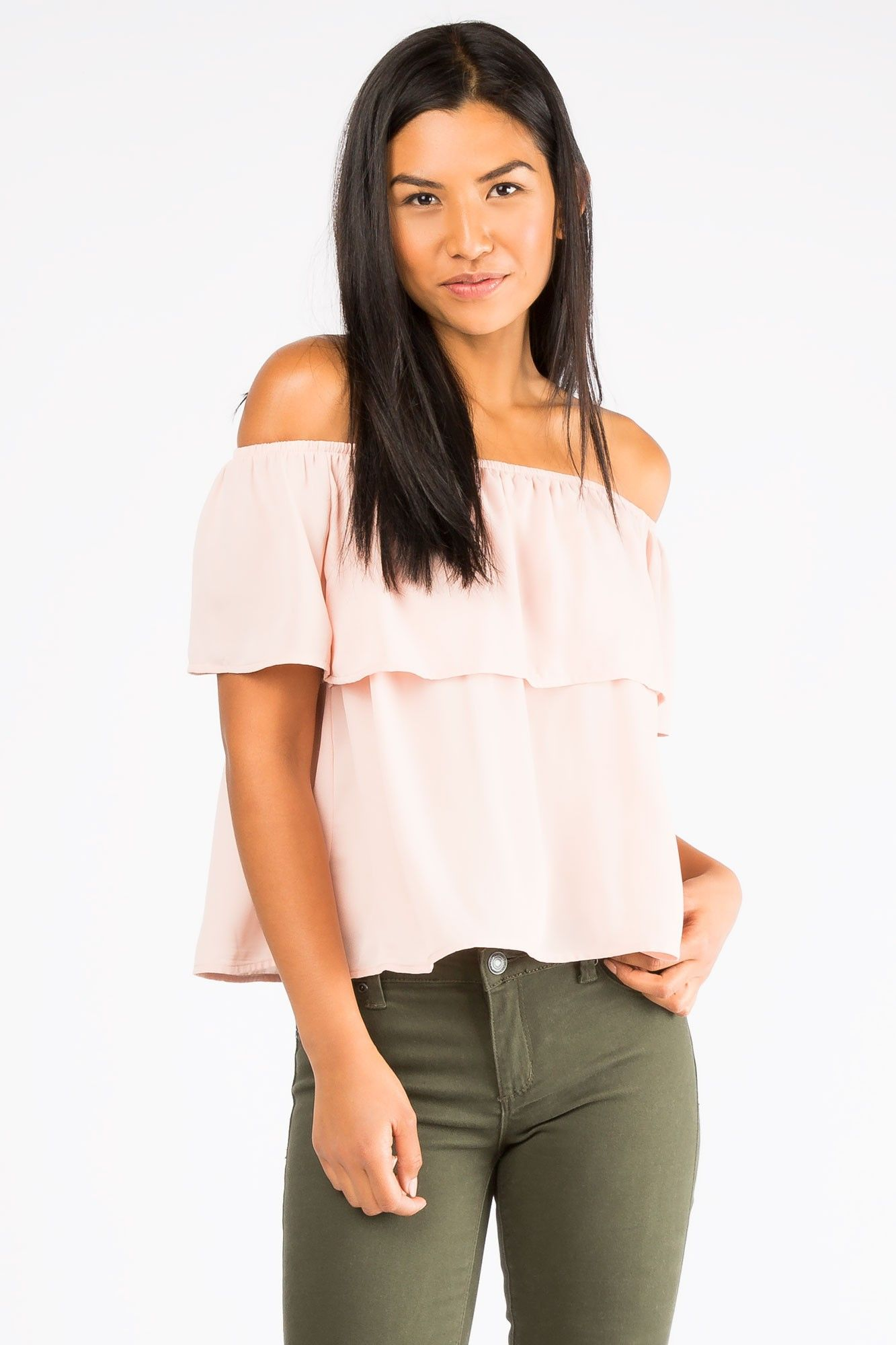 3c214bc2bd356e Girls Off The Shoulder Top | THIS JUST IN | Shoulder, Tops, Off the ...