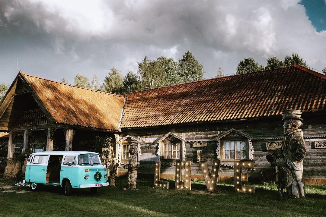 #volskwagen #vintagecar #barnwedding #wesele #reception #love #loveletters #weddingsigns #slub #stodola #barn