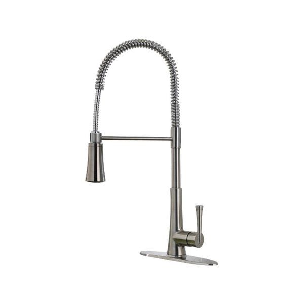 Pfister Zuri Stainless Pull Kitchen Faucet Overstock Redirecting Https Www Plumbersstock High Arc Kitchen Faucet Kitchen Faucet Stainless Steel Kitchen Faucet