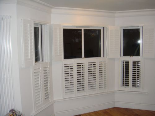Solid Hardwood Plantation Shutters Interior Window Shutters