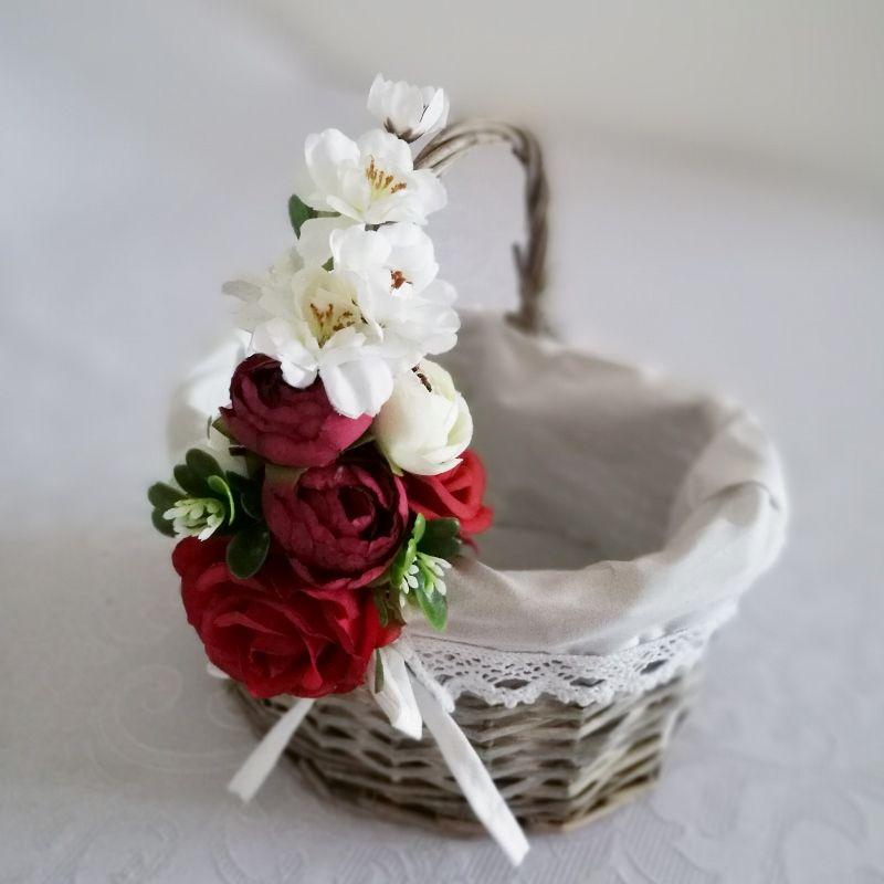 Koszyczek Wielkanocny Nr 7 Swiateczne Atelier Easter Inspiration Decorative Wicker Basket Diy