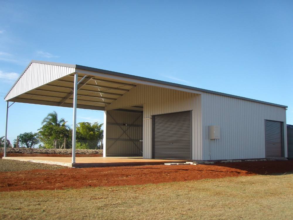 Pin on Carports With Storage Shed