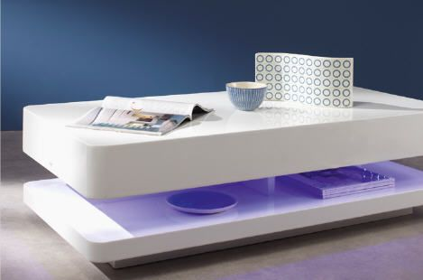Table basse conforama promo table pas cher achat table for Table blanche conforama