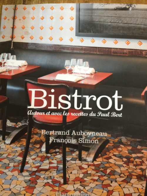 Francois Simon on the words and Le Paul Bert's recipes? This here's the Francophone cookbook release to beat in 2012.