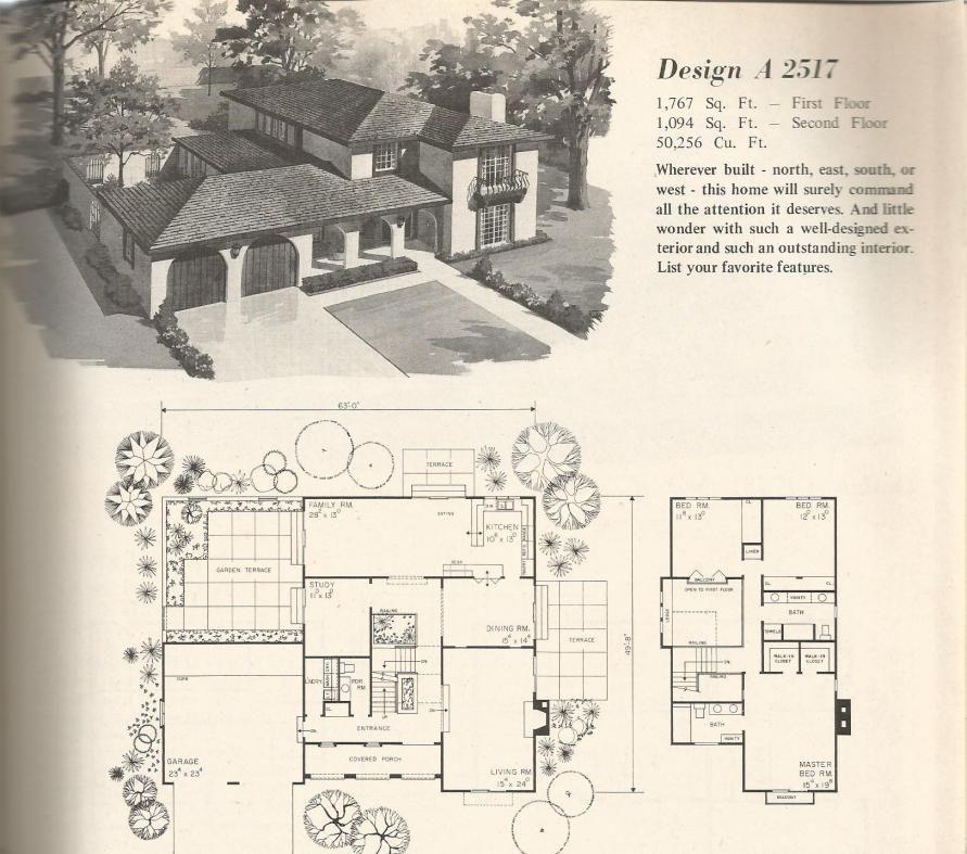 Vintage Home Plans Old West 2517 Vintage House Plans Vintage House Architectural House Plans