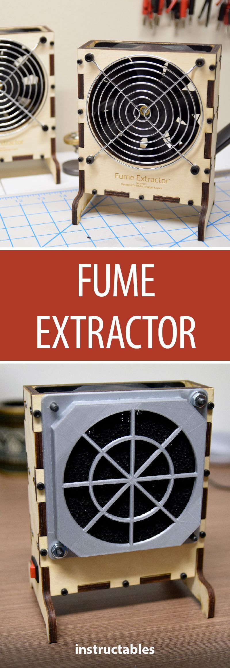 Fume extractor diy electronics electronics projects