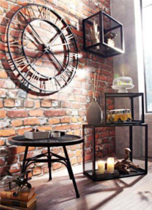 Quelle Decoration Murale En Fonction Du Type De Decoration Rhinov Deco Salon Industriel Idee Deco Industrielle Deco Style Industriel