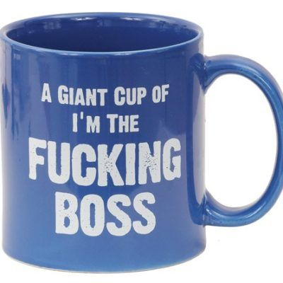 Atude Mug A Giant Cup Of I M The Ing Boss 22 Oz