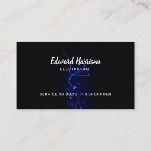 Electrician Slogans Business Cards Zazzle Com Electrician Business Card Template Design Electrician Services