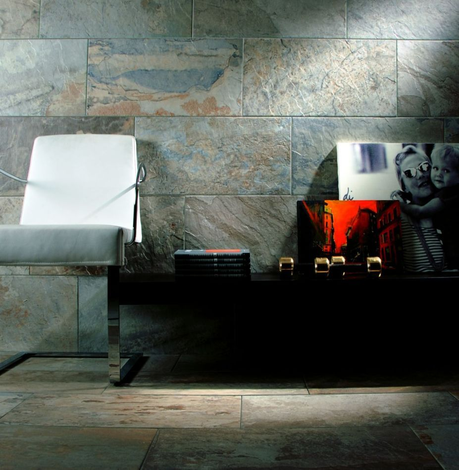 Natural stone look floor tiles these porcelain floor tiles are natural stone look floor tiles these porcelain floor tiles are amzing imitation of slate floors without the ongoing maintenance dailygadgetfo Image collections