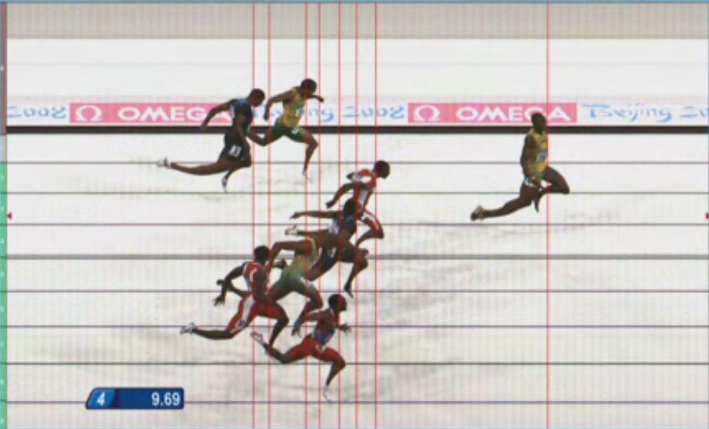 Usain Bolt, the world's fastest man