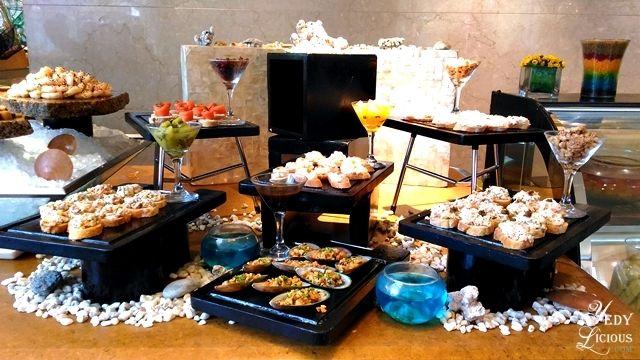 Appetizers Buffet at Spectrum Fairmont Hotel Makati Manila PH