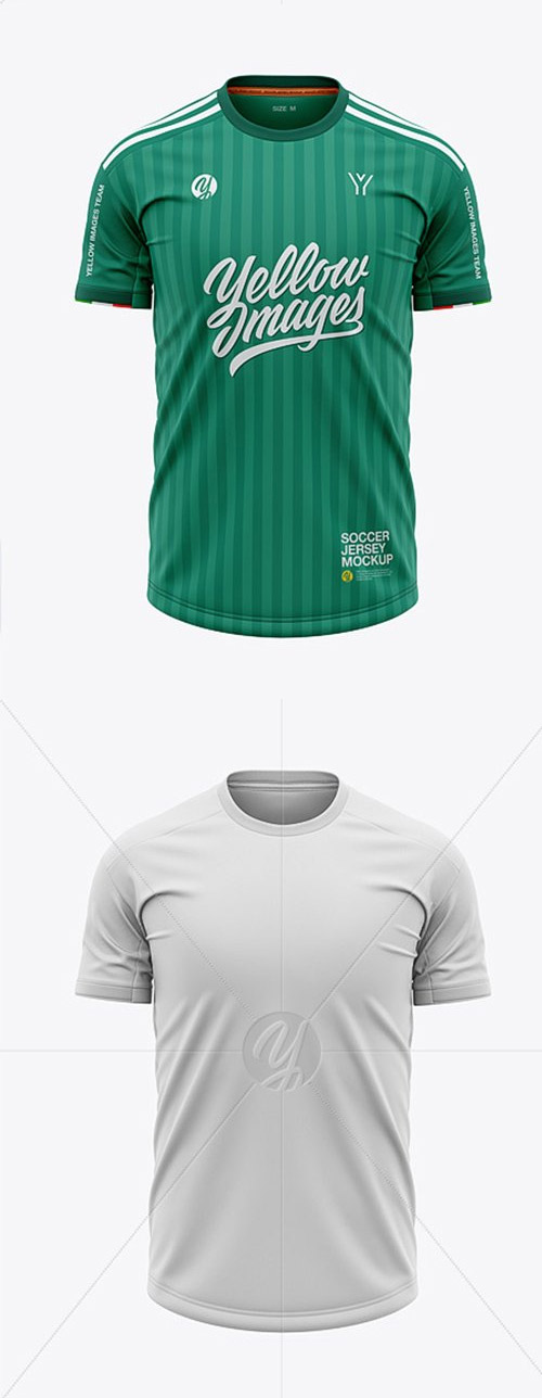 Download Mens Soccer Crew Neck Jersey Mockup Front View Free Psd Templates Mens Soccer Jersey Soccer