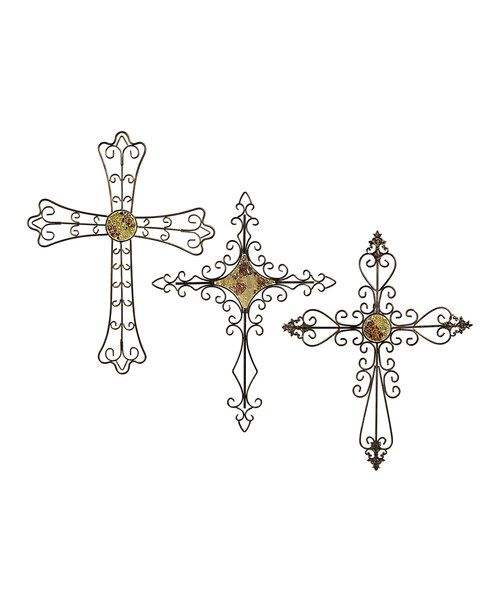 Take a look at this Home Again Cross Wall Art Set on zulily today!