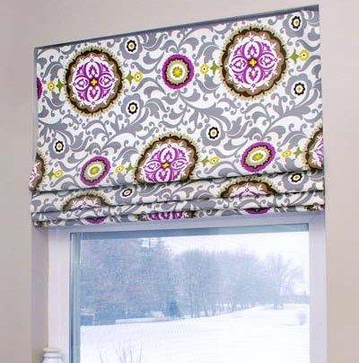 DIY-Roman-shade-allParenting-vertical | Шторы | Pinterest