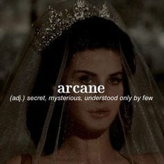 What's Your Word Aesthetic?   Arcane