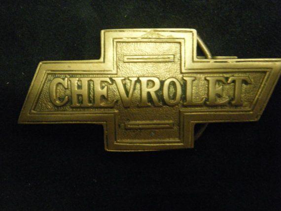 Vintage Chevrolet Belt Buckle By Beltbucklequeen On Etsy 34 00
