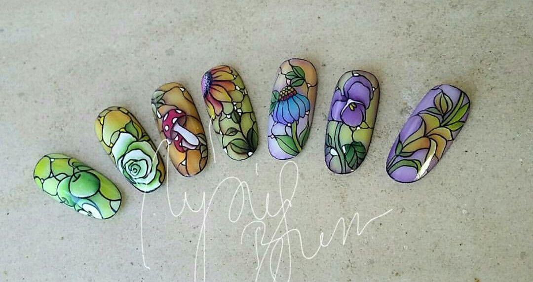Pin de Trudy Reynolds en oh nails | Pinterest | Mosaicos