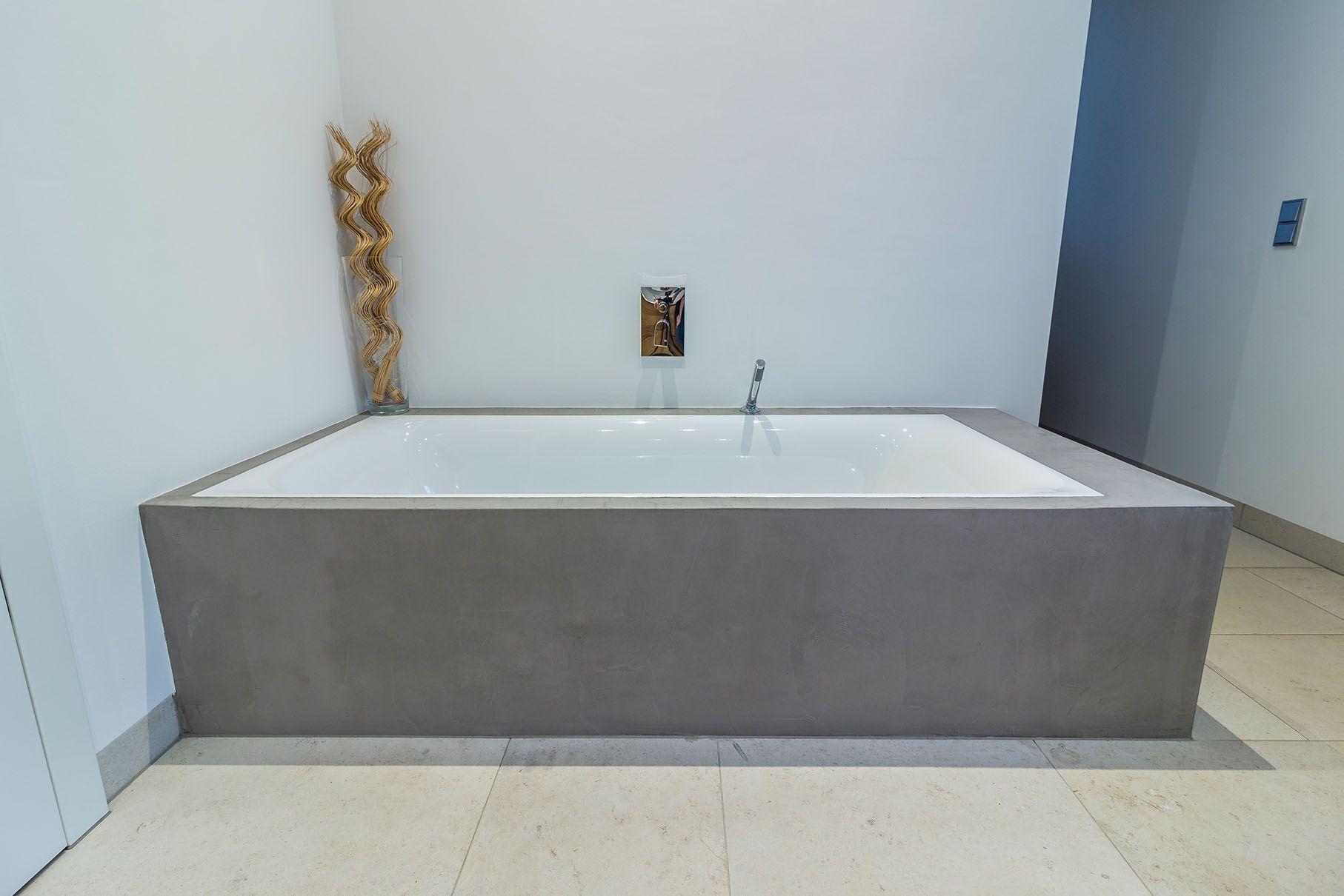 Badewanne In Beton Badewanne Beton Badewanne Badezimmer Umgestalten