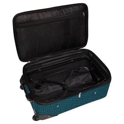 aba454804f9e Skyline Carry On Luggage 3pc Set - Teal