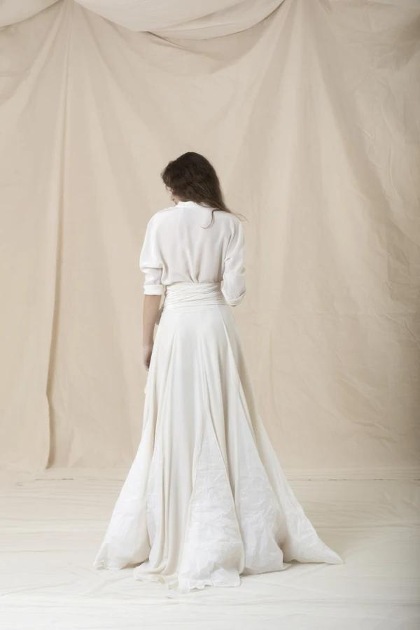 Cortana Naomi Skirt In 2020 Bohemian Style Gown Wedding Dress Long Sleeve Wedding Dresses