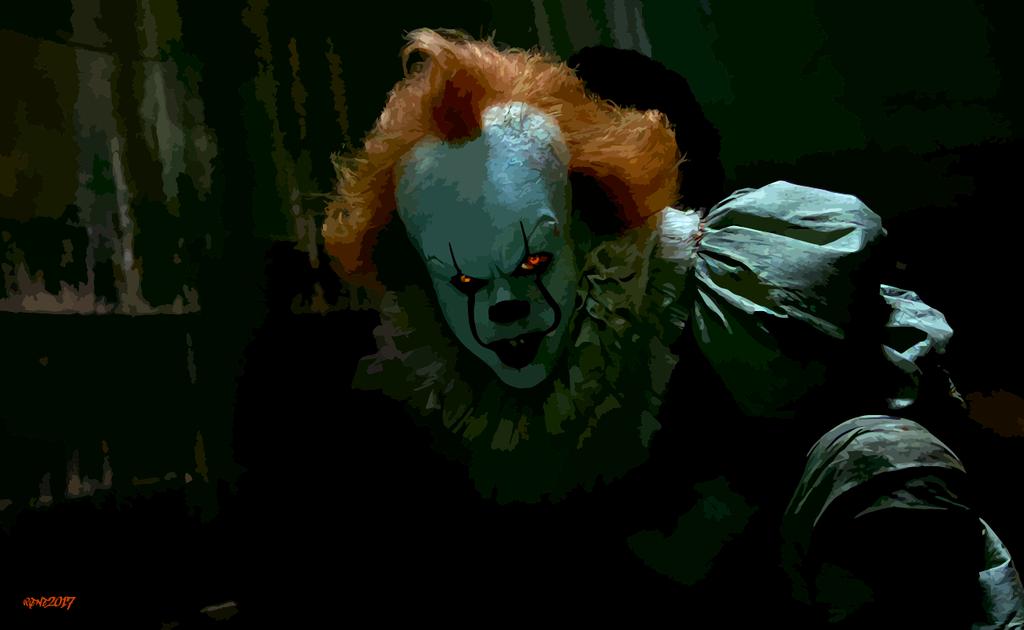 """Wallpaper It Clown Bill Skarsgard Horror 2017 Hd: Résultat De Recherche D'images Pour """"pennywise Wallpaper"""
