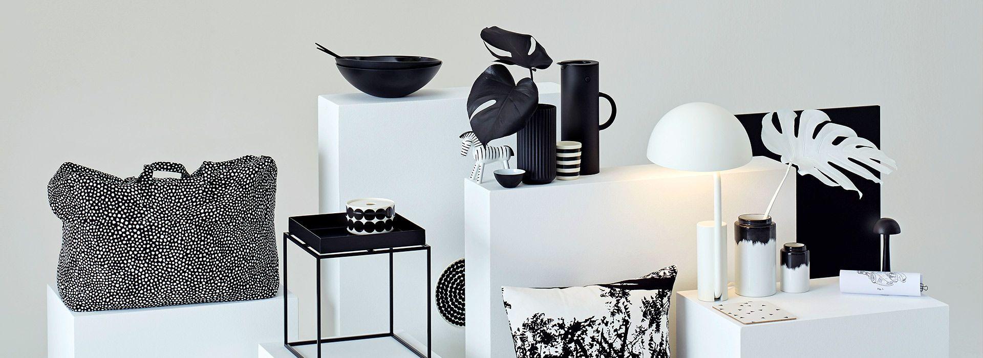 Black White Deko Ideen Schoner Wohnen Wohnen