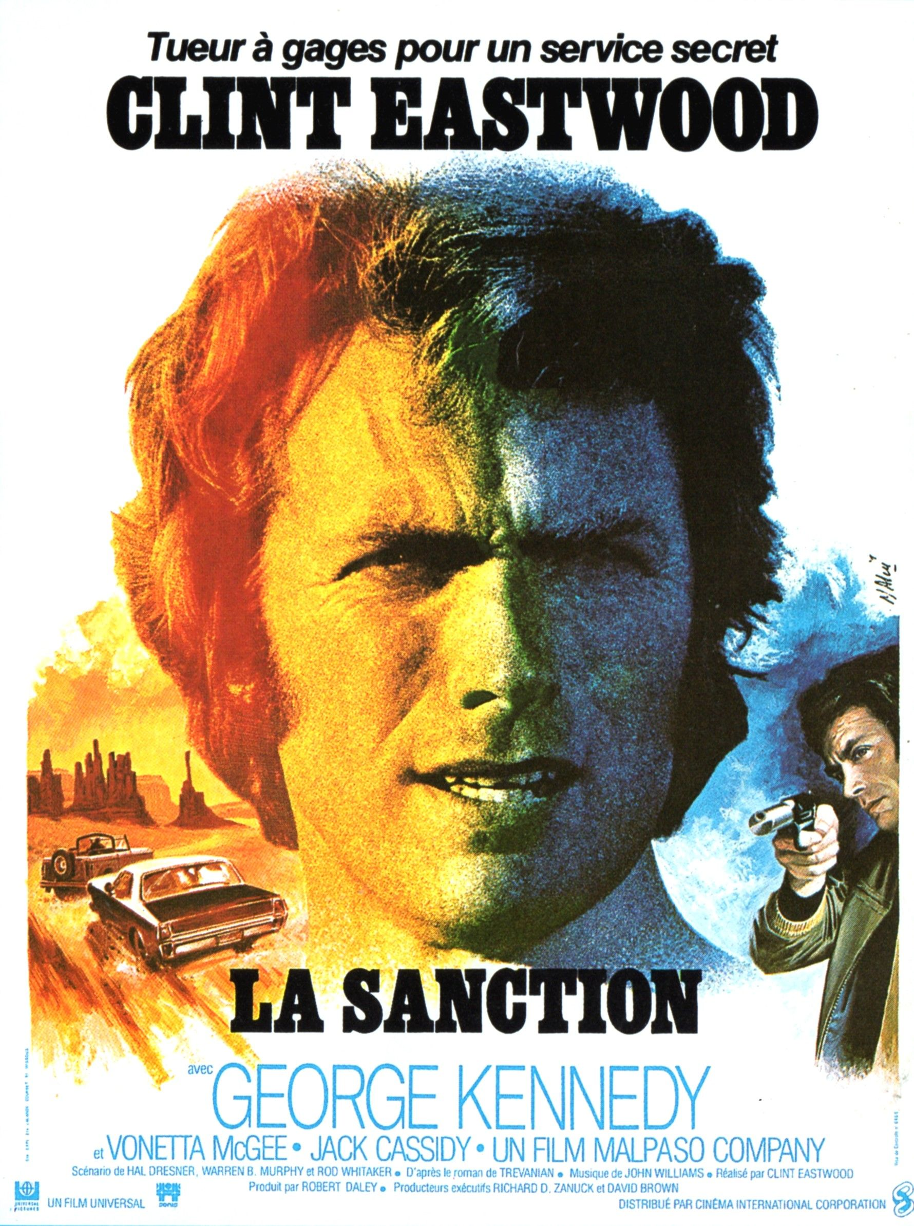 la sanction clint eastwood