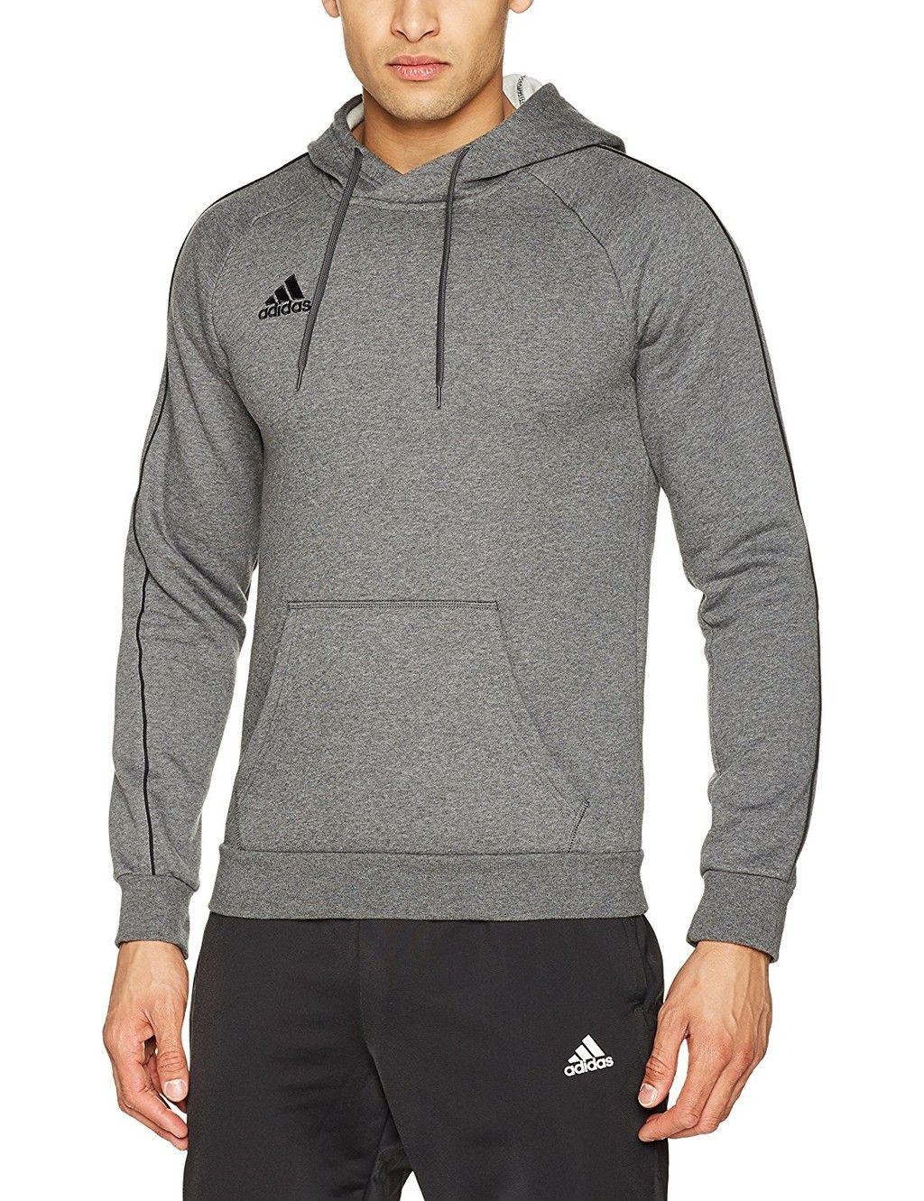 La sudadera Adidas Core18 gris está disponible en varias