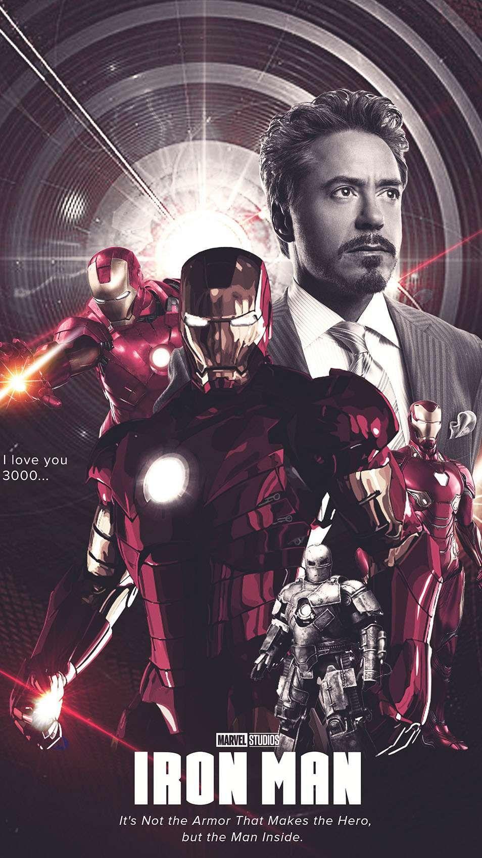 History of iron man iphone wallpaper in 2020 iron man