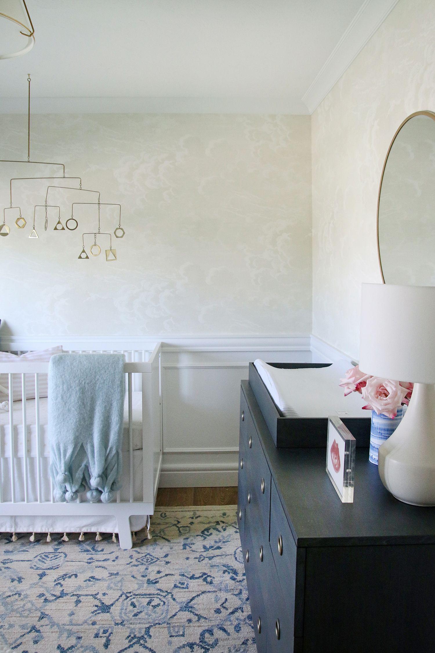 Sophisticated Modern Nautical Nursery: A Sweet, Serene And Sophisticated Nursery!