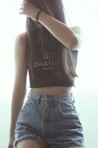 Chanel paris shirts