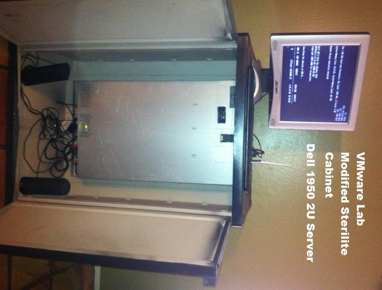 Build a Custom Rack Server Cabinet for VMware Lab - VM