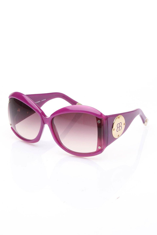 Balenciaga Emma Sunglasses In Violet - Beyond the Rack