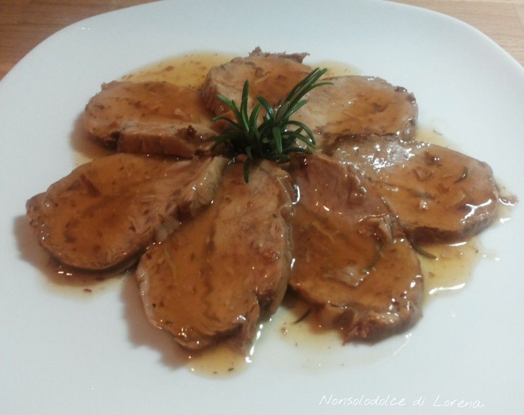 Photo of Stewed veal roast, tasty, soft main course …