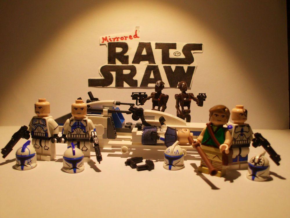 Lego Star Wars minifigures - Clone Custom Troopers THE DESERTER Set ...