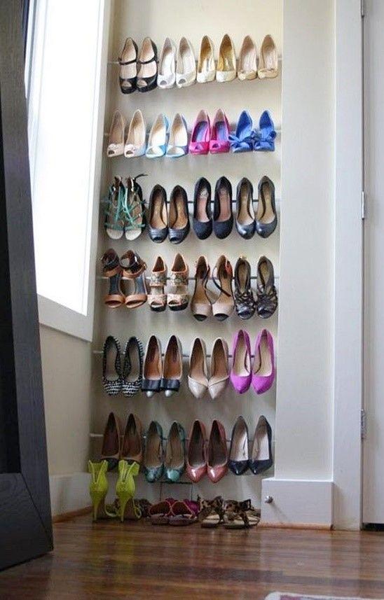 신발수납 아이디어 신발수납장 정리 침실 구조 Diy 신발장 집 정리