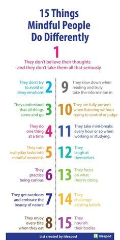 15 Things Mindful People Do Differently - Fit Bott